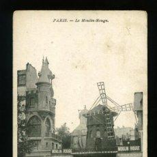 Postales: PARIS - LE MOULIN ROUGE - SÍN CIRCULAR. Lote 18394864