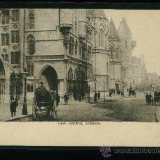Postales: LONDON - LONDRES - LAW COURT - SÍN CIRCULAR. Lote 18399779