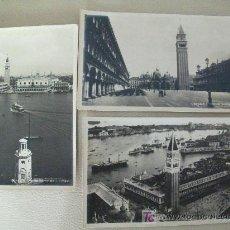 Postales: 3 POSTALES SIN CIRCULAR - VENEZIA - PIAZZA SAN MARCOS - ENTRE 1910 / 1913 -. Lote 26453412