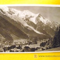 Postales: ANTIGUA POSTAL : CHAMONIX - VUE GÉNÉRALE - FRANCIA. LA CIGOGNE Nº 13513. Lote 18533583