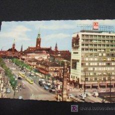 Postales: COPENHAGEN - VIEW OVER VESTERBRO PASSAGE - . Lote 18623337