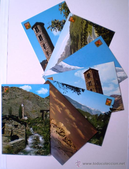 ANDORRA LOTE 7 POSTALES AÑOS 60/70 (Postales - Postales Extranjero - Europa)
