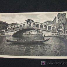 Postales: PONTE DI RIALTO - VENEZIA - . Lote 18703919