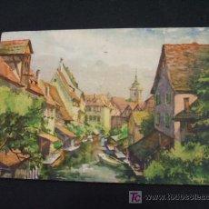 Postales: COLMAR - ALSACE - LA PETITE VENISE - . Lote 18717661