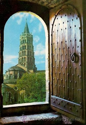 TOULOUSE (FRANCIA) - VILLE D'ART - VISION DU PASSE. LA BASILIQUE ST. SERVIN (Postales - Postales Extranjero - Europa)