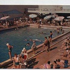 Postales: PORTUGAL.- PISCINA DO HOTEL ATLANTICO, MONTE ESTORIL. FECHADA EN 1958.. Lote 18977201