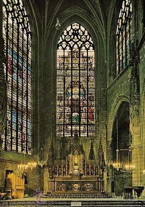 BRUXELLES - CATHEDRALE ST. MICHEL - CHAPELLE ET RETABLE DU ST. SACREMENT (Postales - Postales Extranjero - Europa)