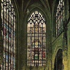 Postales: BRUXELLES - CATHEDRALE ST. MICHEL - CHAPELLE ET RETABLE DU ST. SACREMENT. Lote 18983216