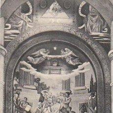 Postales: LOURDES, MOSAICOS, LA CORONACIÓN DE ESPINAS, RECUERDO DEL CINCUENTENARIO (1858-1908). Lote 18996649