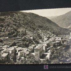 Postales: VALLS D'ANDORRA - LES ESCALDES - CON UN SELLO DE ANDORRA Y OTRO DE ESPAÑA, FRANQUEO Y MATASELLO. Lote 19100604