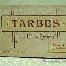 Postales: LIBRO, 20 POSTALES, TARBES, PIRINEOS, HAUTES PYRENEES, FOTOS, LABOUCHE FRERES, COMPLETO. Lote 19381496
