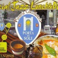 Postales: POSTAL ITALIA PERUGIA PIZZERIA PORTA DEL SOLE CARTE POSTALE POSTCARD . Lote 19548927