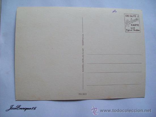 Postales: DER RHEIN VON KÖLN RUDESHEIM - RAHMEL KARTE 603 - Foto 2 - 19718091