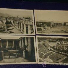 Postales: CUATRO POSTALES FOTOGRÁFICAS ANTIGUAS DE POMPEYA.(ITALIA). Lote 23228989