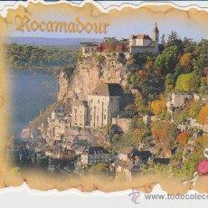 Postales: ROCAMADOUR (FRANCIA) ++ POSTAL TROQUELADA. Lote 20165703