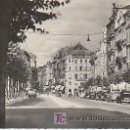 Postales: METZ. 28. L'AVENUE ET LA RUE SERPENOISE.CIRCULADA 1954.. Lote 22014514