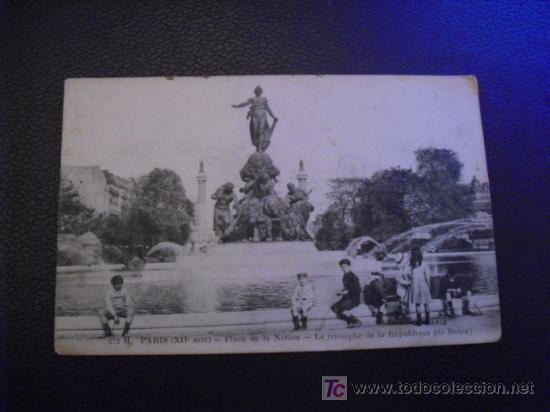 PARIS - PLACE DE LA NATION- (Postales - Postales Extranjero - Europa)