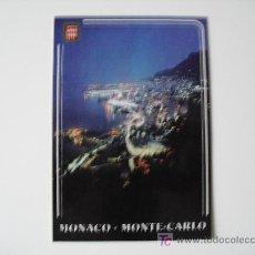 Postales: POSTAL MONACO - MONTECARLO. Nº488. VISTA GENERAL DE NOCHE. SIN ESCRIBIR.. Lote 21057882