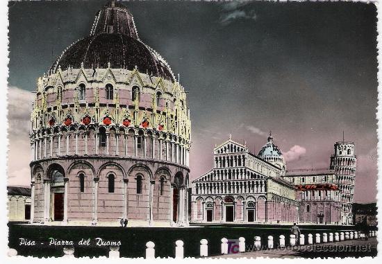 PISA.- PIAZZA DEL DUOMO. (Postales - Postales Extranjero - Europa)