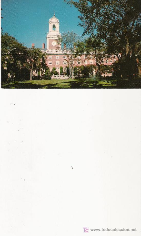 ELIOT HOUSE - HARVARD COLLEGE, CAMBRIDGE, MASS. (Postales - Postales Extranjero - Europa)