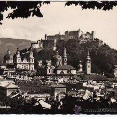Postales: AUSTRIA, SALZBURG, POSTAL VISTA CASTILLO. Lote 21494318