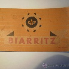 Postales: LOTE DE POSTALES DE BIARRITZ. Lote 21506700