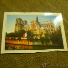 Postales: PARIS POSTAL NOTRE DAME. Lote 21576690