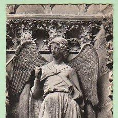 Postales: REIMS (MARNE), LA CATEDRAL, EL ANGEL DE LA SONRISA. Lote 21711542