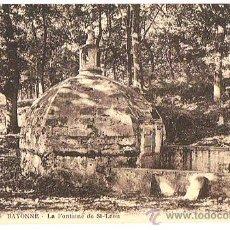 Postales: POSTAL DE BAYONNE FRANCIA, LA FONTAINE DE ST-LÉON, EDIT. ALSACIEENE, SIN CIRCULAR, VER FOTOS.. Lote 23466727