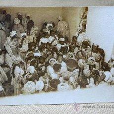 Postales: POSTAL, FOTOGRAFIA, IMAGEN DEL PUEBLO INDU, BLANCO Y NEGRO, 13X8CM,. Lote 23176004