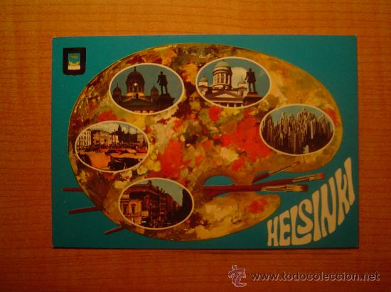 POSTAL HELSINKI HELSINGFORS FINLAND SIN CIRCULAR (Postales - Postales Extranjero - Europa)