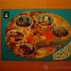 Postales: POSTAL HELSINKI HELSINGFORS FINLAND SIN CIRCULAR. Lote 22304901