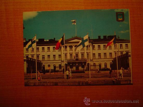 POSTAL HELSINKI HELSINGFORS SUOMI FINLAND PRESIDENTIN LINNA SIN CIRCULAR (Postales - Postales Extranjero - Europa)