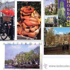 Postales: LOTE POSTALES DE AMSTERDAM - HOLANDA - PAISES BAJOS ¡¡¡¡ OFERTA LIQUIDACION !!!!. Lote 22551644