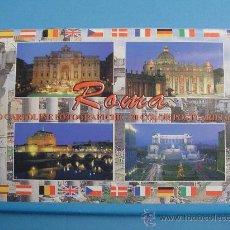 Postales: LOTE DE 20 POSTALES DE ROMA (ITALIA). Lote 26586640