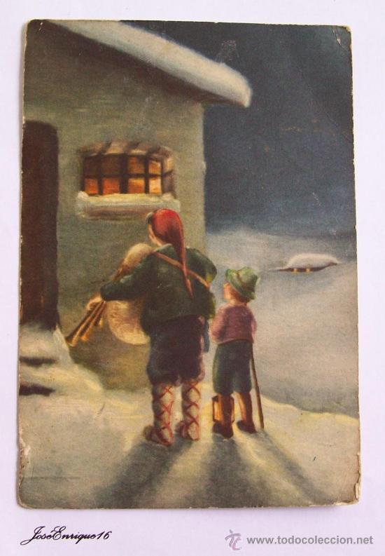 1936 ITALIA - ITALY - IL GIORNO DI NATALE, EL DIA DE NAVIDAD - CHRISTMAS DAY - JOUR DE NOËL (Postales - Postales Extranjero - Europa)