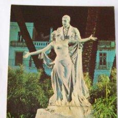 Postales: PORTUGAL, LISBOA N° 21 MONUMENTO, ECA DE QUEIROS. MONUMENT. Lote 25726508