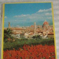 Postales: FIRENZE 35 POSTALES DESPLEGABLES CONTIENE MAPA. Lote 26674964