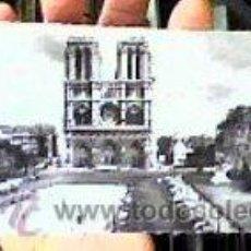 Postales: NOTRE-DAME VUE DU PARVIS(PARIS).5028.ALFA.SIN CIRCULAR.AÑOS 50.POSTAL ALARGADA-22,5X8,5 CMS-.. Lote 23174989