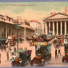 Postales: TARJETA POSTAL. LONDRES, BANK OF ENGLAND & ROYAL EXCHANGE, LONDON. . Lote 23736147