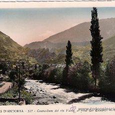 Postales: VALLS D`ANDORRA - LES ESCALDES - V. CLAVEROL. Lote 23713965