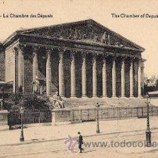 Postales: PARIS - LA CHAMBRE DES DEPUTES. Lote 24185531