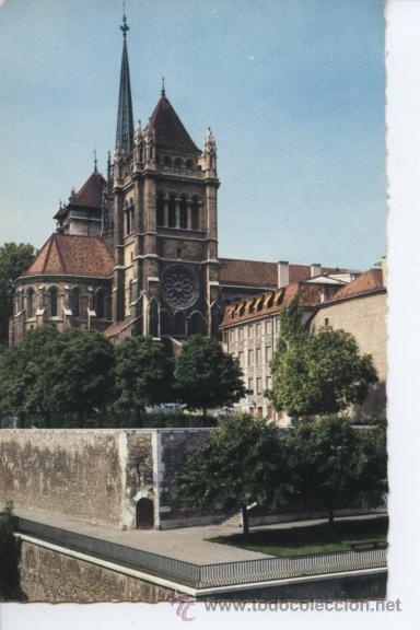 GENEVE (SUIZA) CATHEDRALE ST. PIERRE (Postales - Postales Extranjero - Europa)