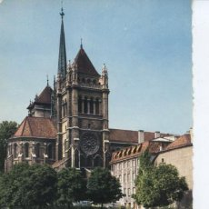 Postales: GENEVE (SUIZA) CATHEDRALE ST. PIERRE. Lote 24209522