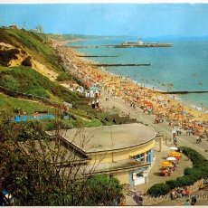 Postales: BOURNEMOUTH. DURLEY CHINE AND PROMENADE.. Lote 24321638