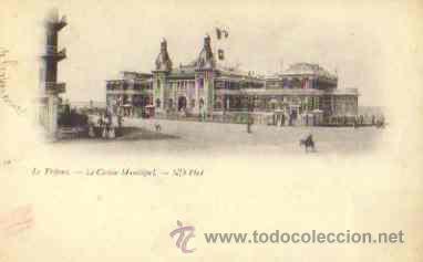 LE TREPORT (FRANCIA) - LE CASINO MUNICIPAL (Postales - Postales Extranjero - Europa)