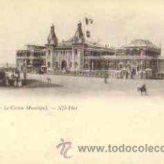 Postales: LE TREPORT (FRANCIA) - LE CASINO MUNICIPAL. Lote 24323566