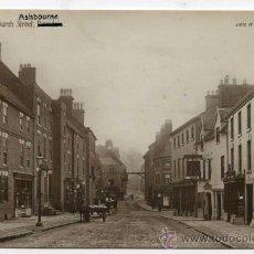 Postales: ASHBOURNE. CHURCH STREET. REAL PHOTO. VALENTINES SERIES. DERBYSHIRE. Lote 24526898