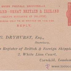 Postales: GRAN BRETAÑA E IRLANDA - LONDRES - SIGLO XIX. Lote 24693533