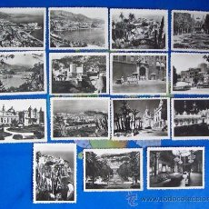 Postales: MONACO. 15 PEQUEÑAS POSTALES. - 15 SMALL POST - 15 PETIT POSTE, AÑOS 50 - MONTE CARLO. Lote 26377782